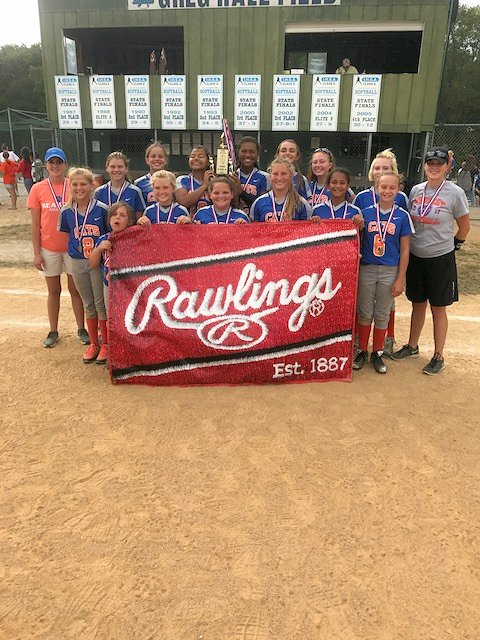 2017 Class M Softball 3rd - Christopher