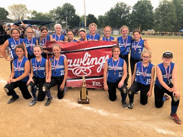 2017 Class S Softball 2nd - Woodlawn