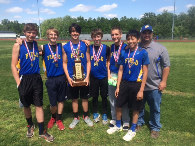 S boys track Field 1st