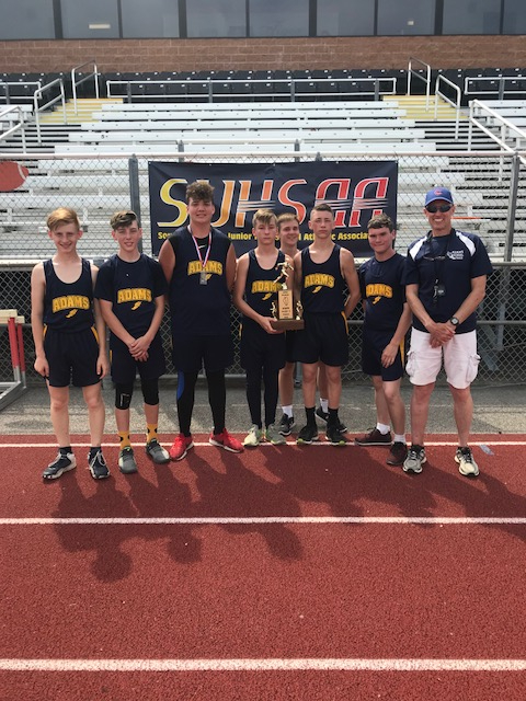 2018 Adams Creal Springs Boys S Track 4th