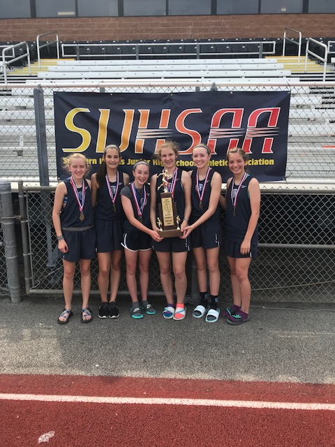 2018 St. Clare OFallon Girls S Track 1st