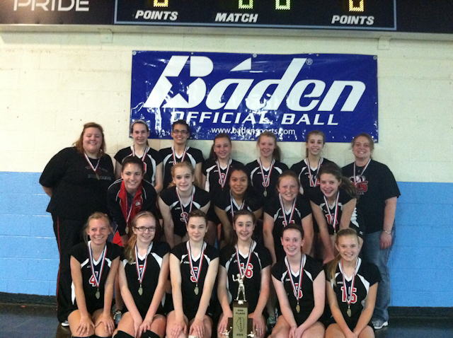 2012 - Class L Volleyball 2nd Place - Highland