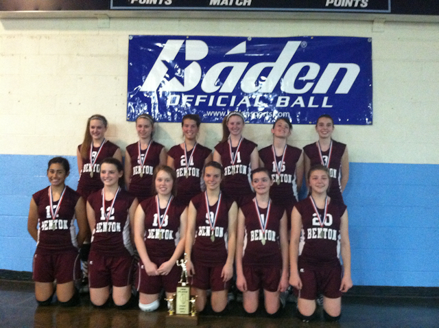 2012 - Class L Volleyball 3rd Place - Benton