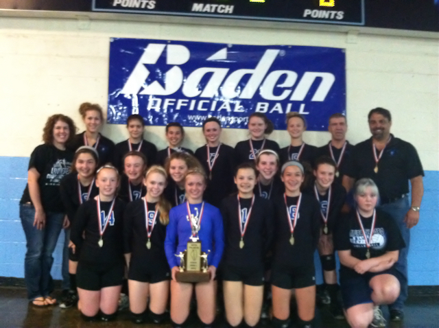 2012 - Class L Volleyball 4th Place - Murphysboro