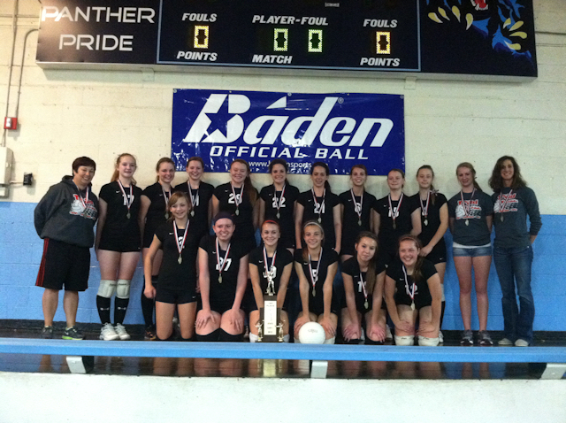 2012 - Class L Volleyball State Champions - Triad