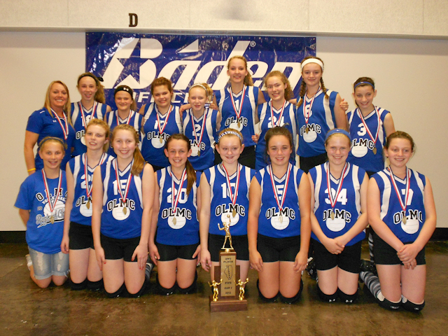 2012 - Class S Volleyball 2nd - OLMC-Herrin