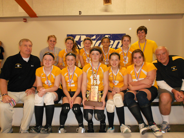 2012 - Class S Volleyball 4th Place - DeSoto
