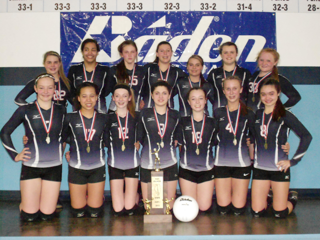 2013 Volleyball Class L 1st - Massac County