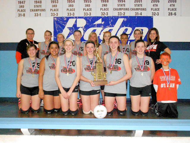 2013 Volleyball Class L 2nd - Herrin