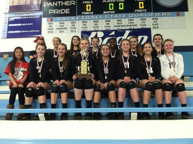 2016 Class L Volleyball 4th Place Salem