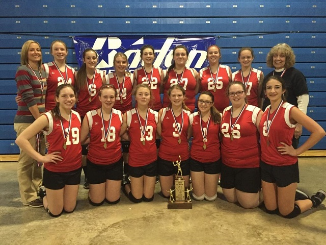 2016 Class M Volleyball 4th Place NCOE