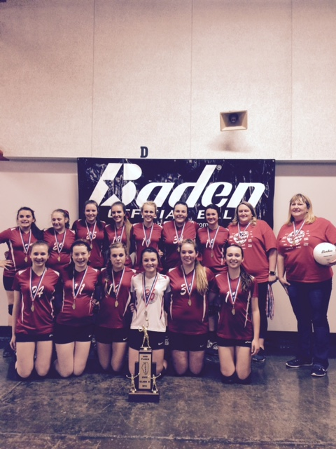 2016 Class S Volleyball 2nd Place Ewing