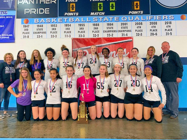 2019 SIJHSAA Class L Volleyball 1st Mascoutah